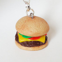 Cheeseburger - keychain