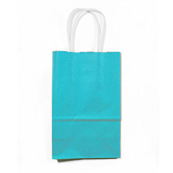 Small Party Favor Bags with Handles, Set of 12