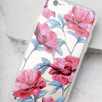 Sonix Auroura Clear and Pink Floral Print iPhone 7 Case