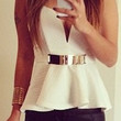 All Good Things Belted Top (more colors)