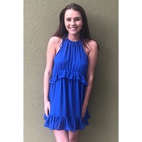 Grad Day Dress- Blue