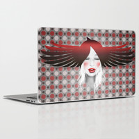 MonGhostX - Close, Fly, dreams... of a free world ! Peace. Laptop & iPad Skin by LilaVert