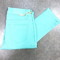 THE SIMPLE SKINNY IN MINT