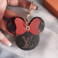 LV Louis Vuitton key case pendant