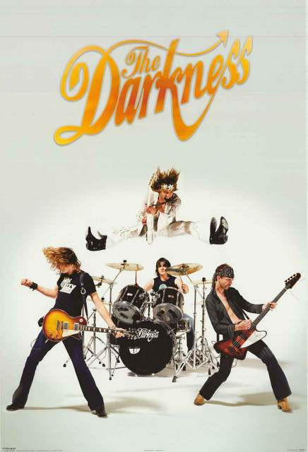 Image of The Darkness Band Poster 24x36