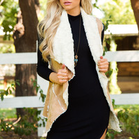 Mind Over Matter Faux Fur Vest