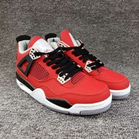 "Women's and Men's NIKE Air Jordan 4 NRG ""Raptors""  Retro Royalty 003"