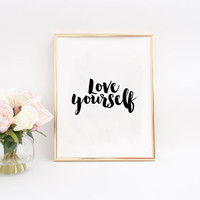 JUSTIN BIEBER QUOTE, My Mama Don't Like You And She Likes Everyone, Gift For Her Song Lyrics Printable Quote Teen Gift Justin Bieber Print