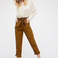 Free People Like This Paper Bag Pant