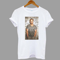ScreenPrinted theo james Divergent Popular shirt for T shirt mens, t shirt woman available size S,M,L,XL,XXL in MatiAja