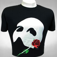 Buy The Phantom of the Opera on Broadway Poster Tee - Unisex | The Broadway Store