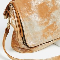 Free People Arielle Foiled Messenger