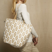 Naturals Lightweight Patterned Tote