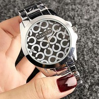 COACH 2018 new men and women models wild and fashionable quartz watch F-H-JH 7