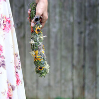 Extra Large Organic Floral Smudge Stick