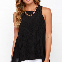 Searching High-Low Black Top