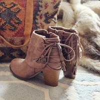 Juniper Lace Booties