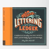 Hand-Lettering Ledger By Mary Kate McDevitt - Urban Outfitters