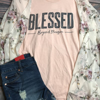 Blessed Beyond Measure Graphic Tee