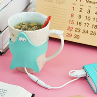 Portable USB Electronic Warmer Coffee Milk Tea Cup Heating Pad Plate = 4451566276