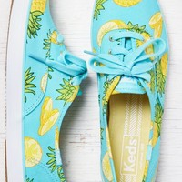 AEO Women's Keds Champion Fruit Sneaker (Bright Teal)