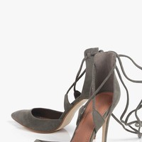 Jessica Pointed Wrap Strap Court