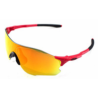 New Oakley Sunglasses EVZero Path Infrared w/Fire Iridium #9308-10 New In box