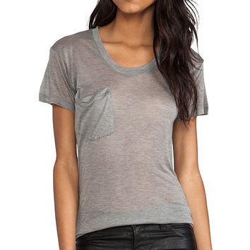 Kain Classic Tee in Light Gray
