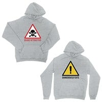 Attractive & Cute Grey Matching Hoodies Cute Valentine's Day Gift
