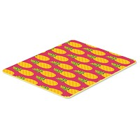 Pineapples on Pink Kitchen or Bath Mat 20x30 BB5136CMT