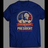 "DAVE CHAPPELLE ""BIGSBY FOR PRESIDENT"" SHIRT"
