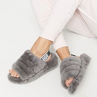 Hipgirls GUCCI Hot Sale New Hollow Letter Casual Couple Slippers