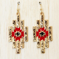 Tamaya Aztec Earrings