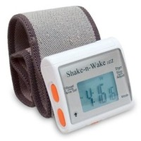 Shake N Wake Vibrating Alarm Clock with bedpost wrap makes for a must have dorm product especially college students with roommates