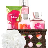 Basket of Favorites Gift Kit Sweet Pea