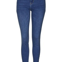 MOTO Mid Blue Jamie Jeans - Jeans - Clothing