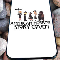 American Horror Story Coven art for iPhone 4/4s, iPhone 5/5S/5C/6, Samsung S3/S4/S5 Unique Case *76*