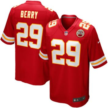 Eric Berry Kansas City Chiefs Nike Team Color Game Jersey - Red