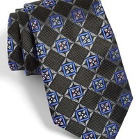 Men's Nordstrom 'Monmouth' Floral Square Silk Tie,
