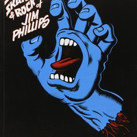 Surf Skate & Rock Art of Jim Phillips (Paperback)