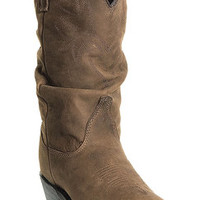 Dingo Women's Marlee Golden Condor Slouch Cowgirl Boots