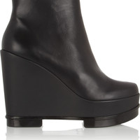 Robert Clergerie - Sarla leather wedge boots