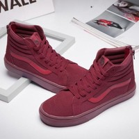 Vans SK8-Hi Old Skool Ankle Boots Canvas Flat Sneakers Sport Shoes