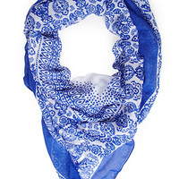 Ornate Woven Scarf