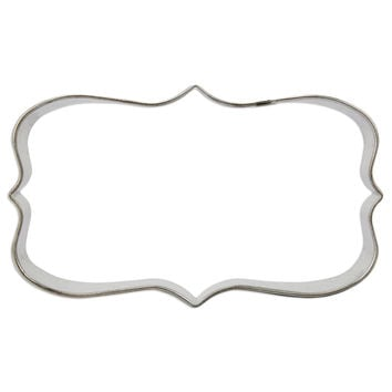 Rectangle Plaque Cookie Cutter