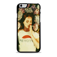 Lana Del Rey smoke in the flower Actrees Iphone 6 Plus Case