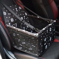 Pet Dog Carrier Car Seat Pad Safe Carry House Dogs Folding Thick Pets Cat Dog Car Booster Seat Cover Bag Transport Hammock Stuff