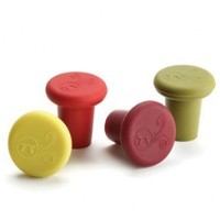 Outset Silicone Wine Stopper Set