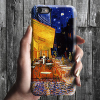 Night Terrace Cafe - Van Gogh iPhone Case 6, 6S, 6 Plus, 4S, 5S. Mobile Phone. Art Painting. Gift Idea. Anniversary. Gift for him and her
