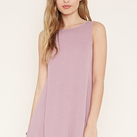 V-Cut Shift Dress | Forever 21 - 2000205618